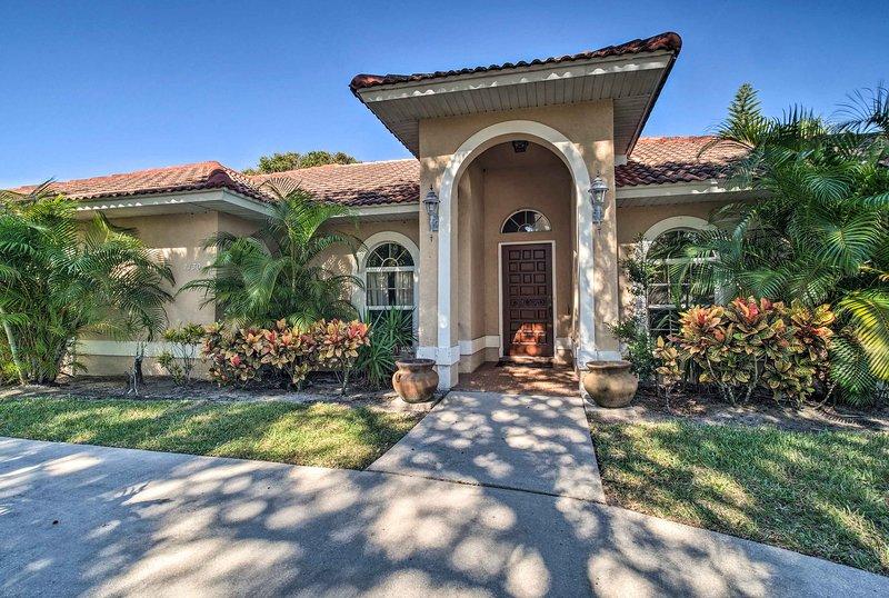 Un soggiorno spensierato ti aspetta quando prenoti questa casa vacanza a Vero Beach.
