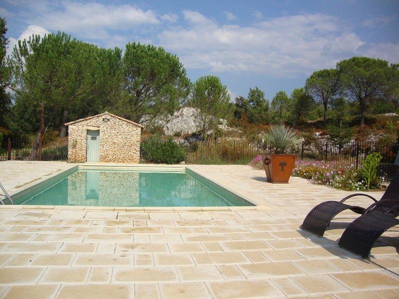 Nice villa with swimming-pool, location de vacances à Bonnieux
