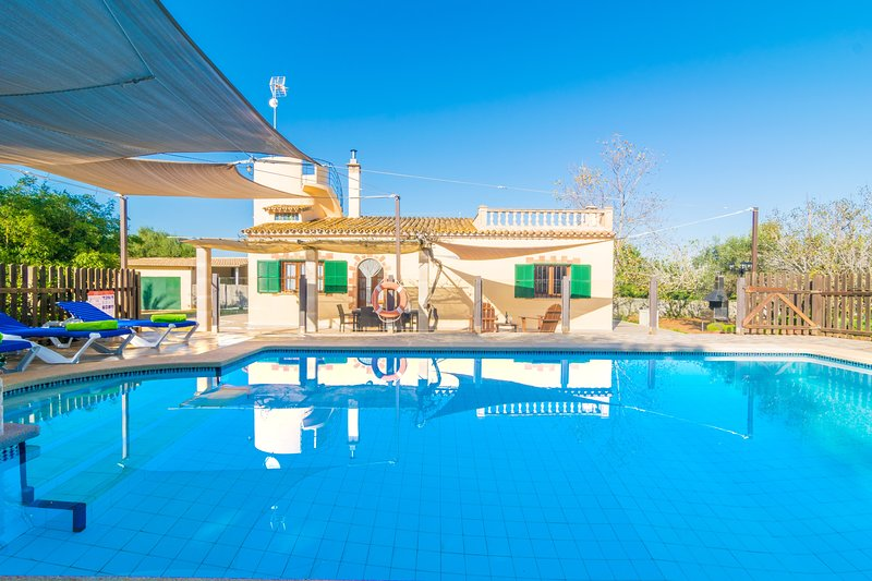 SA TANQUETA DE SES ROQUES - Villa for 6 people in Santanyí, holiday rental in Cala Santanyi