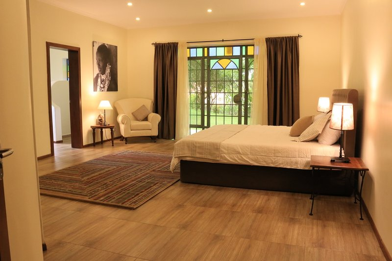 Deluxe double room, holiday rental in Moshi