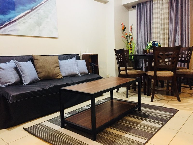 2BR | Flair Towers | 50 Mbps | Free Parking | Near Greenfield District | 3315, alquiler vacacional en Mandaluyong