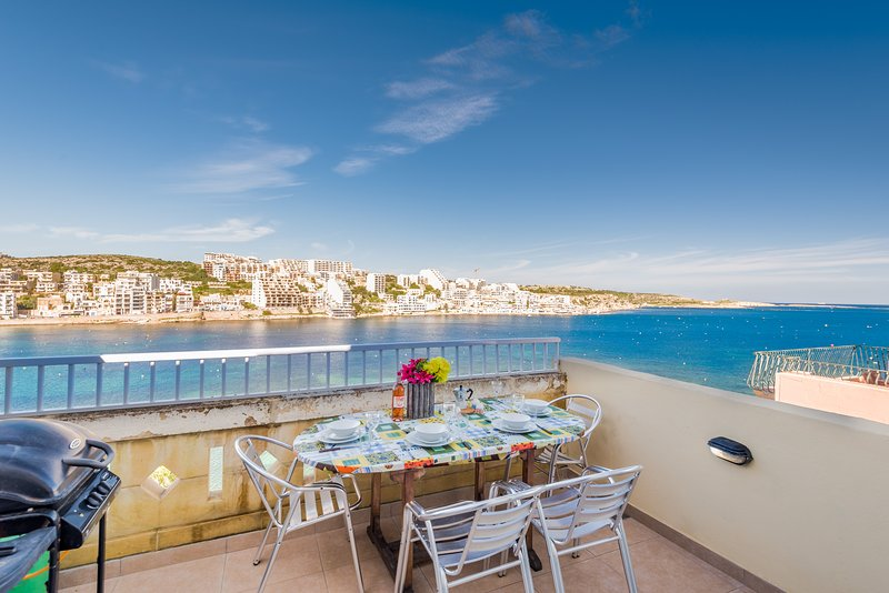 Spectacular Views From Front Terrace. Terrace Equipped With Outdoor Furniture and Gas BBQ.