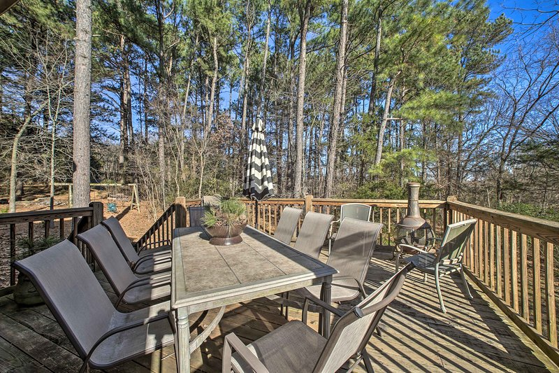 Located in Springdale, this property promises lovely, natural views!