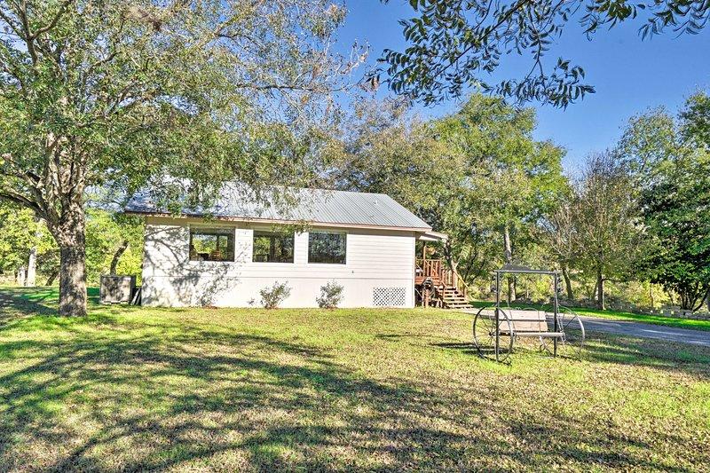 La casa si trova a pochi minuti da San Marcos, Seguin e Austin!