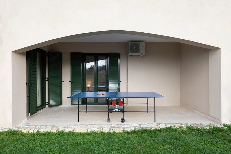 Ping-pong in de villa! De beste wint !!!