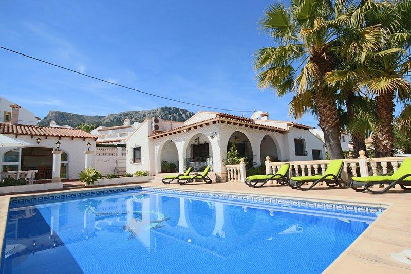 Villa el Almendro 3 - Costa CarpeDiem, holiday rental in Calpe