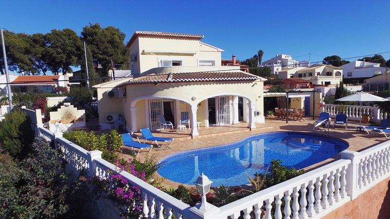 Villa Bellavista - Costa CarpeDiem, vacation rental in La Llobella