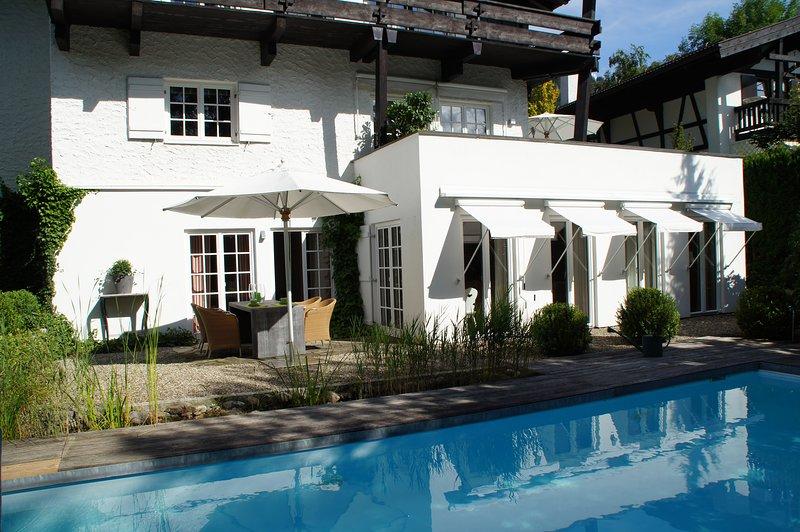 Exclusive Ferienwohnung mit Sauna & Pool, alquiler vacacional en Oberstdorf