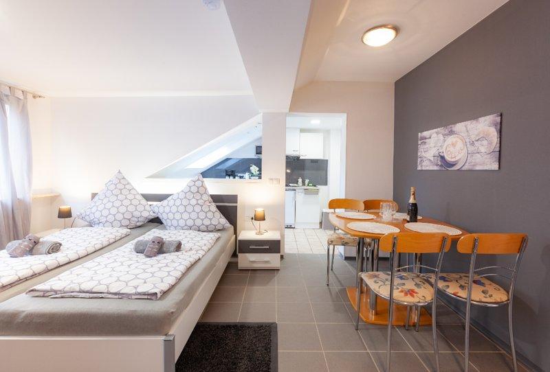 Ferienwohnungen A&S im Mittelrheintal (Dachgeschos - Wohnung 'Frankfurt'), holiday rental in Rech