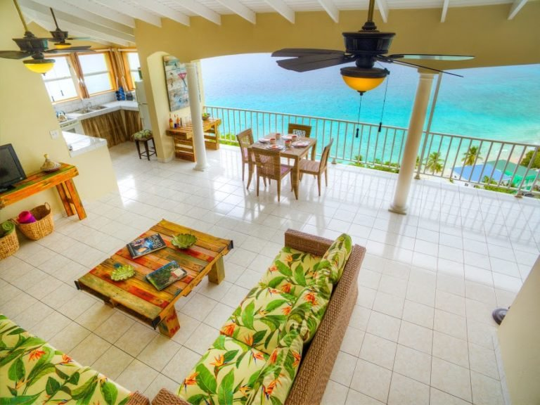 Sugar Apple - Amazing ocean views, within walking distance of two beaches., holiday rental in Tortola