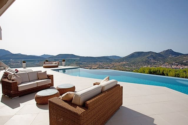 SUPERB LUXURY - Amazing Views & SPA in Monport, vacation rental in Port d'Andratx