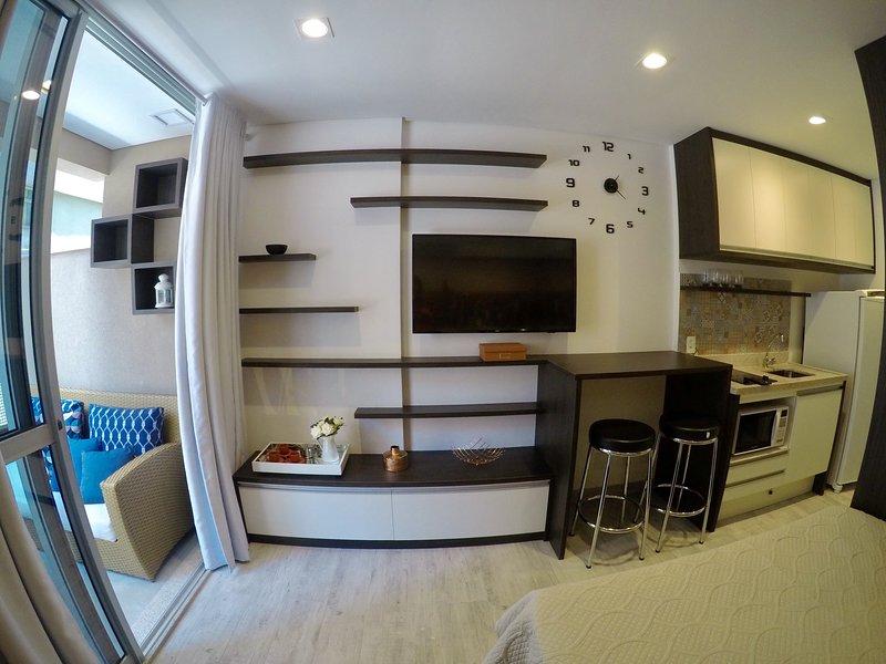 Estilo Nova York/Apartamento  Decorado NOVO, alquiler de vacaciones en São Paulo