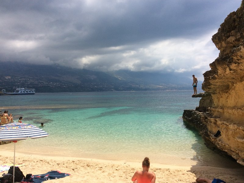 Kefalonia beaches: enjoy charming lagoon in Pessada - only 2,5 km from the apartments!