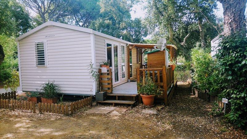Bungalow/Mobil-Home - Saint-Tropez, location de vacances à Gassin