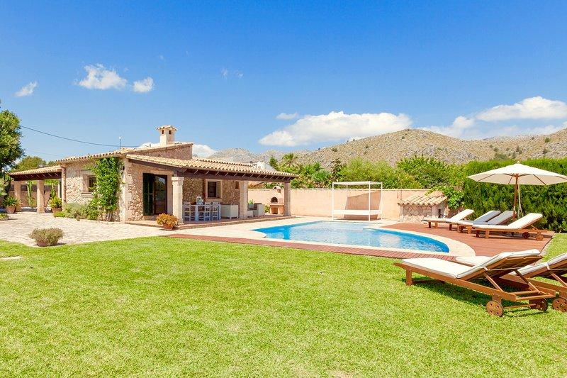 Villa Benvingut, vacation rental in Cala San Vincente