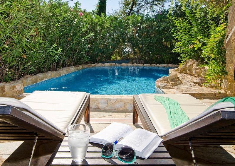 Elia Villa Sleeps 6 with Pool and Air Con - 5720388, holiday rental in Elia Nikitis