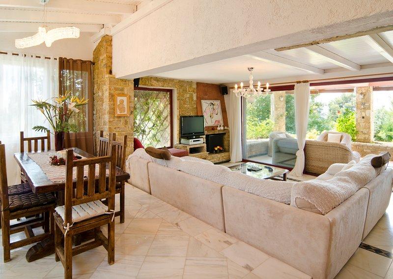 Elia Villa Sleeps 8 with Pool and Air Con - 5720390, holiday rental in Elia Nikitis