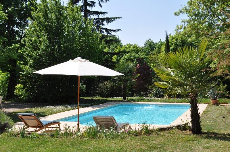 Heated private pool open seasonally