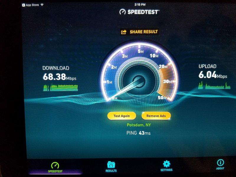 Fast wifi!