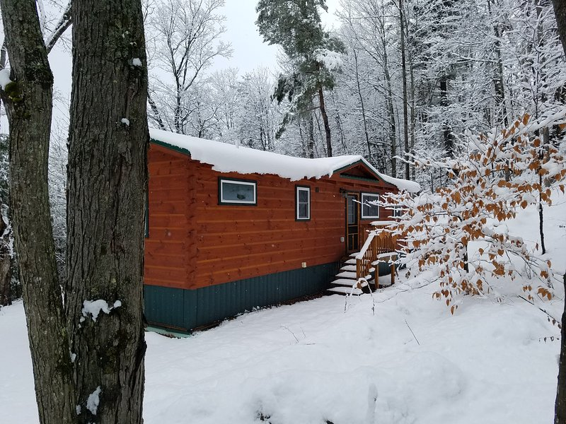 It's winter in the Adirondacks - come play in the snow!