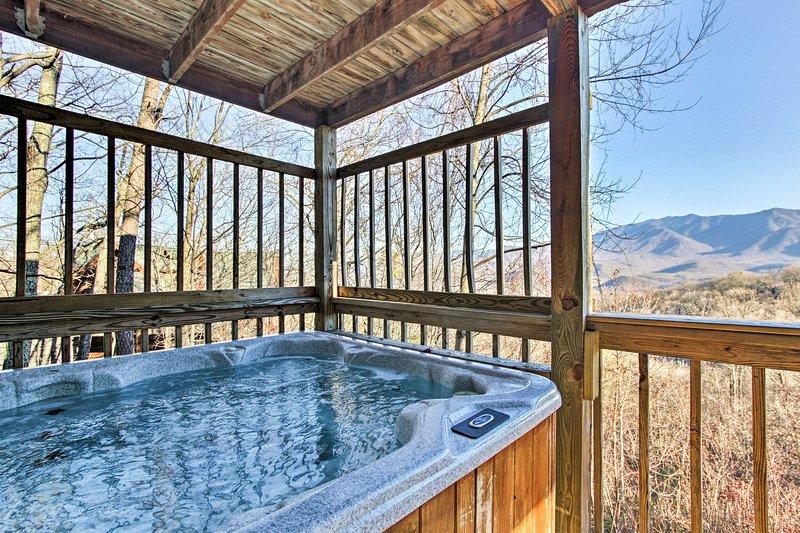 'Toggen Haus' vanta 4 camere da letto, 2 bagni e spazio per un massimo di 8 ospiti.