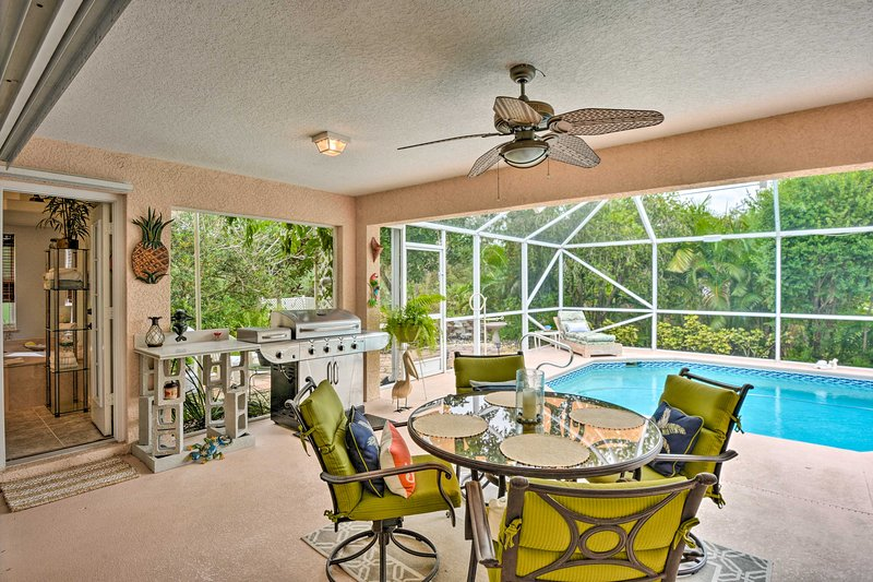 Sebastian Home w/Pool by Indian River+Beaches, vacation rental in Sebastian