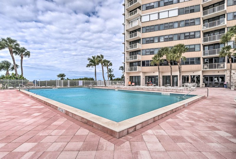 Soak up the sun at the community pool when you're not lounging on the beach!