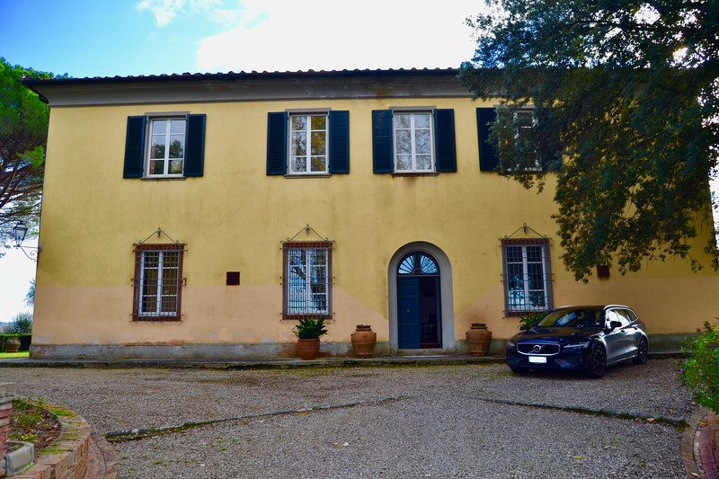 Villa Guardavalle, vacation rental in Crespina
