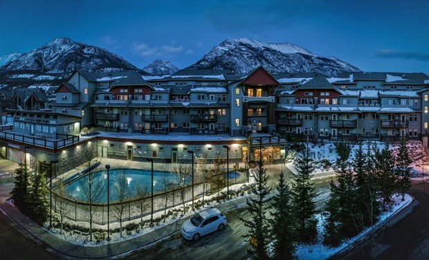 Lodges at Canmore complex