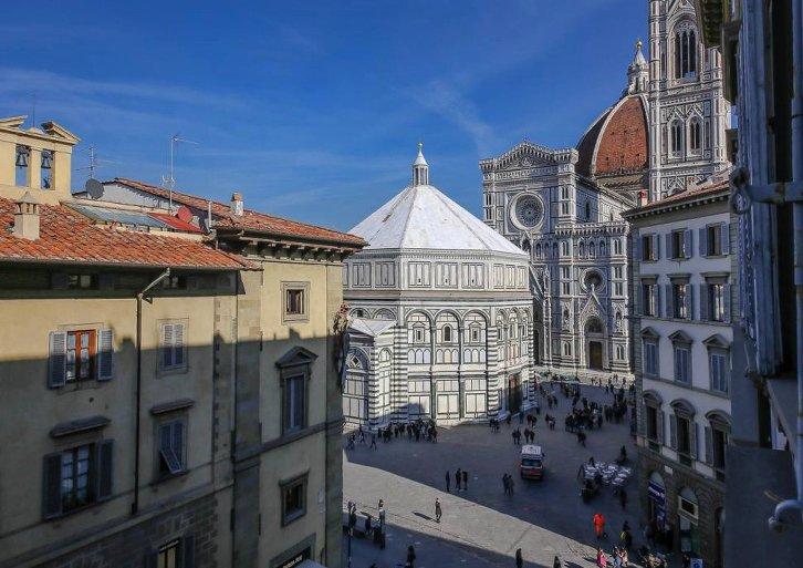Duomo vista dalla finestra
