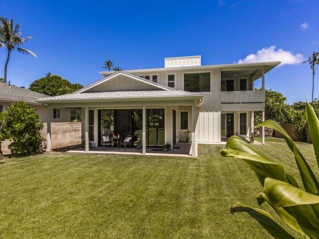 Sua casa havaiana longe de casa.