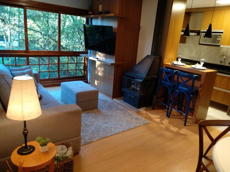 No Coração de Gramado,RS 65m², location de vacances à Nova Hartz
