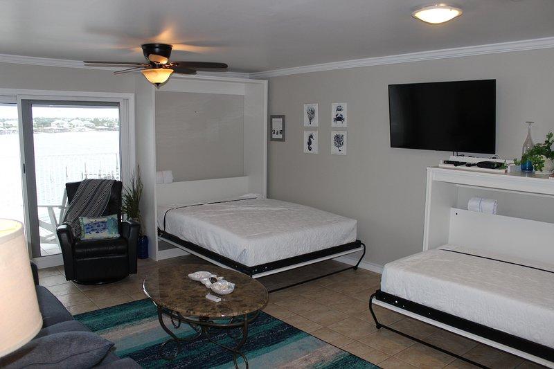 Dos camas Murphy para mayor comodidad para dormir