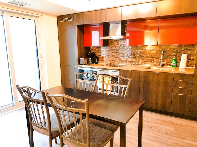 Beautiful condo with a lavish dining and designer kitchen