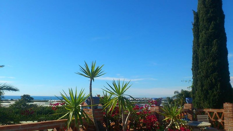 Mediterranean view South from private roof terrace