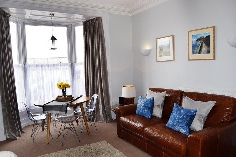 Awel Môr 1 Sea View Apartment, alquiler de vacaciones en Ceredigion