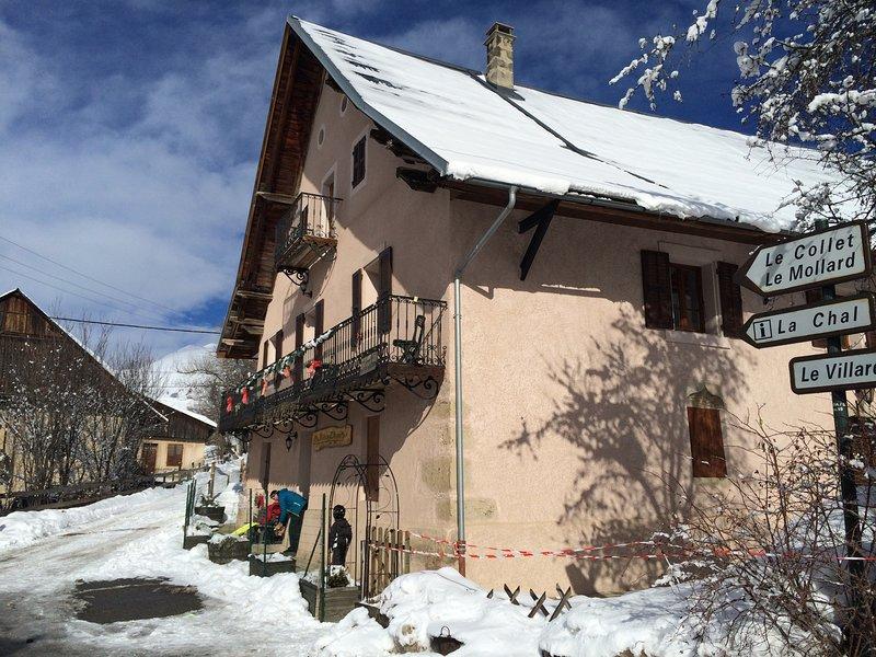 la maison d'augustin classé 2 étoiles les' sybelles' savoie, holiday rental in Saint Jean d'Arves
