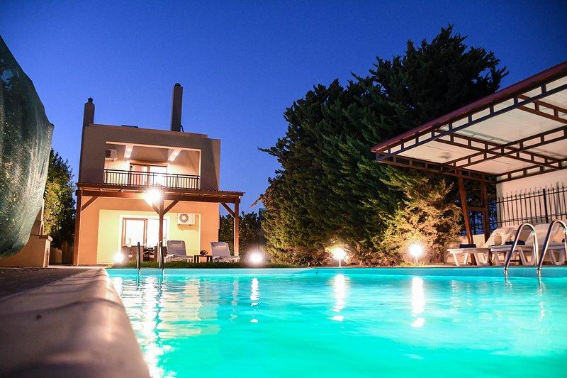 Harmony villa, holiday rental in Koskinou