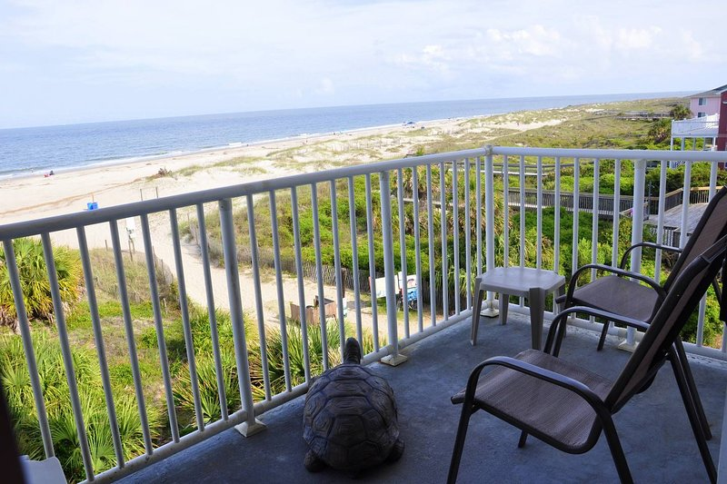 Fabulous ocean view from ocean front cond