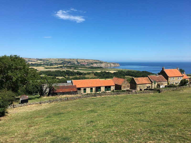 View from Pine Cottage to Robin Hoods Bay