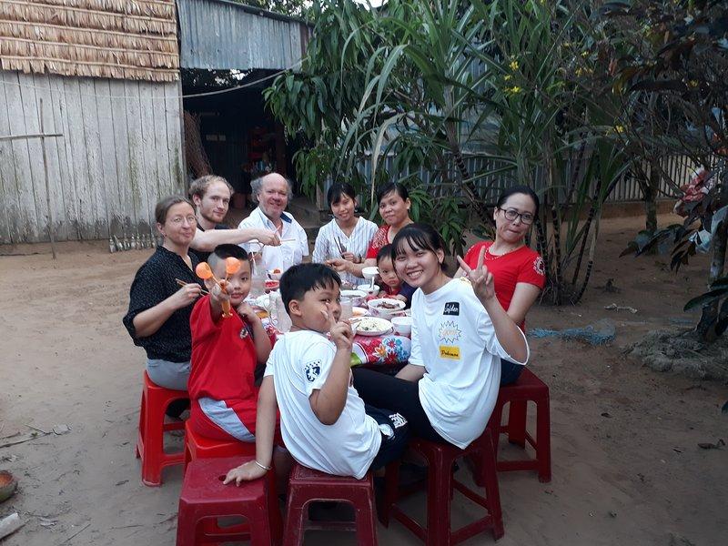 Cô Út Homestay 385 Tỉnh Lộ 911, casa vacanza a Delta del Mekong
