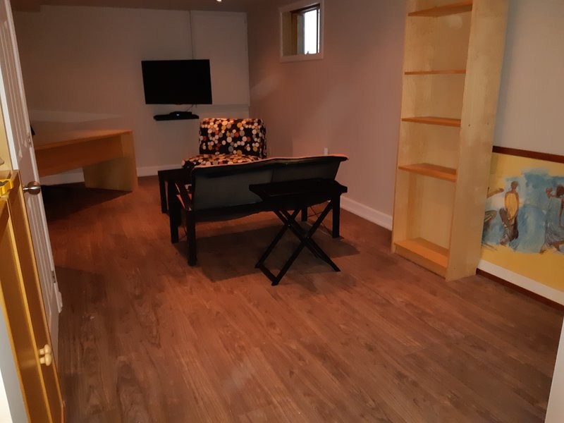 Nice studio with garden & terrace, holiday rental in Blainville