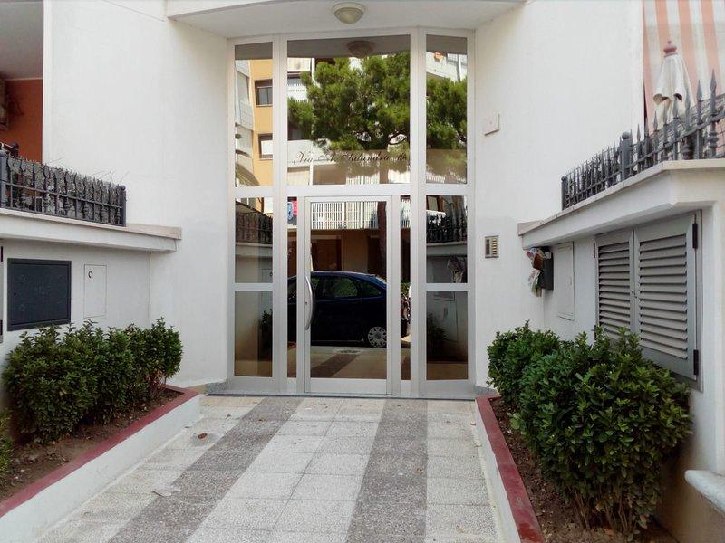Main entrance.