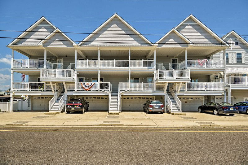 You'll love this centrally located  Wildwood vacation rental condo!