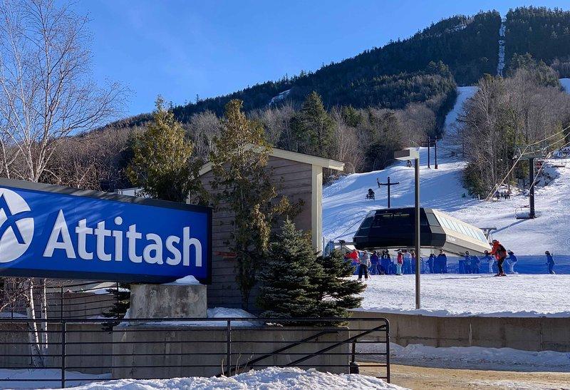 Hit the slopes at Attitash!