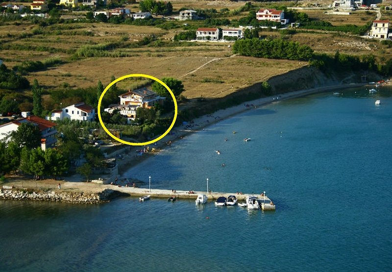 Sandy beach - afordable with parking: A5-20(4) - Vlasici, casa vacanza a Vlasici