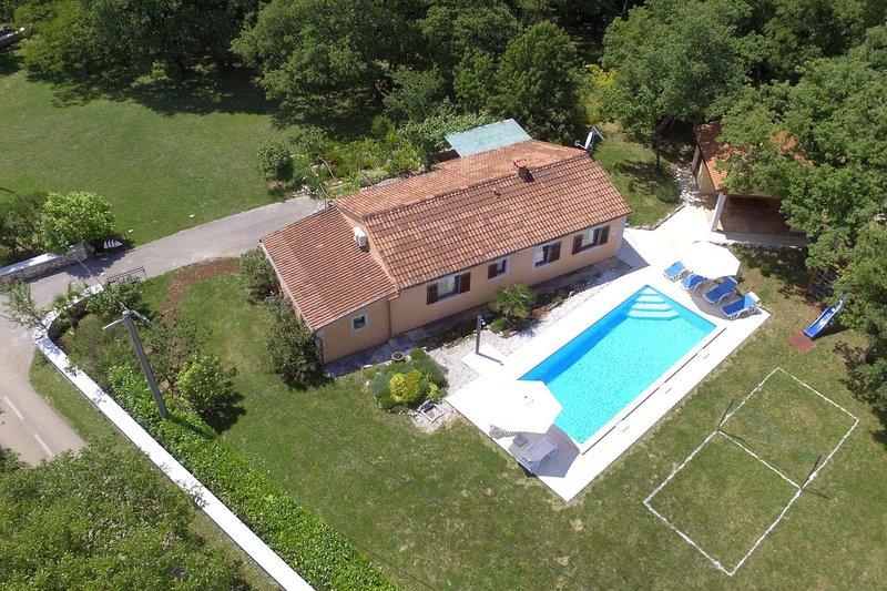 Three bedroom house Milinki, Central Istria - Središnja Istra (K-7005), casa vacanza a Tinjan