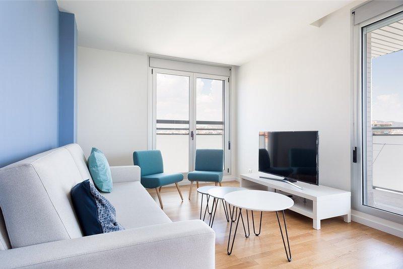 Olala Port Forum Apartment 1.3, holiday rental in Sant Adria de Besos