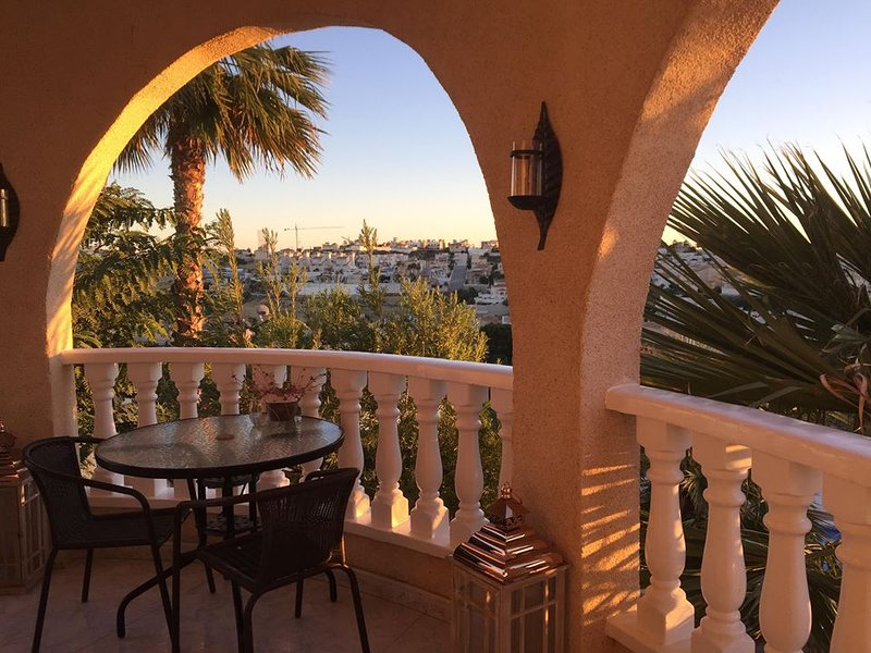 Private Large Balcony with amazing Views