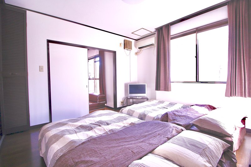 Comfy rooms near Namba, Shinsaibashi, holiday rental in Namba